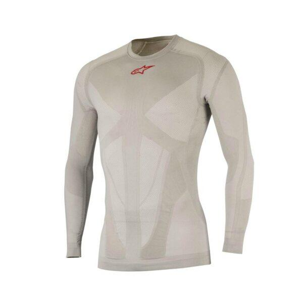 16748-175-0217 198 tech-top-long-sleeve silver-red 1 1 1-2