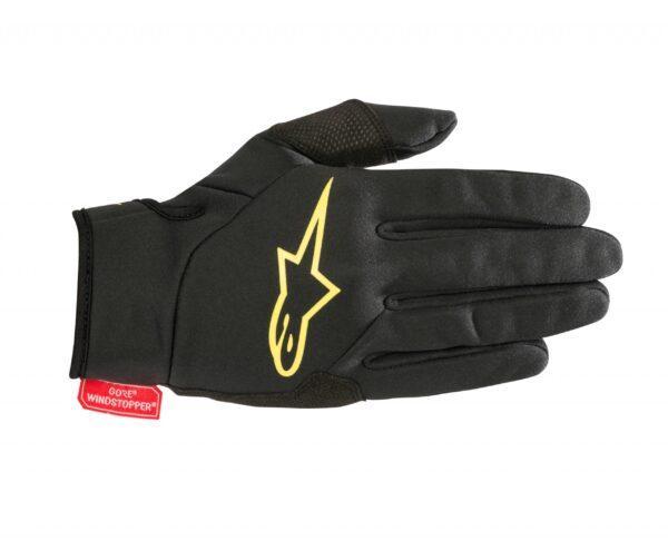 16969-15203018 1047 cascade gore windstopper glove blackyellow 1 5-2