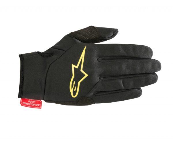 16969-15203018 1047 cascade gore windstopper glove blackyellow 1 5