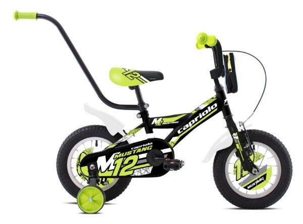 capriolo mustang12 black-lime-white